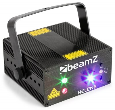 BeamZ Laser Helene Double 230mW RG Multi point