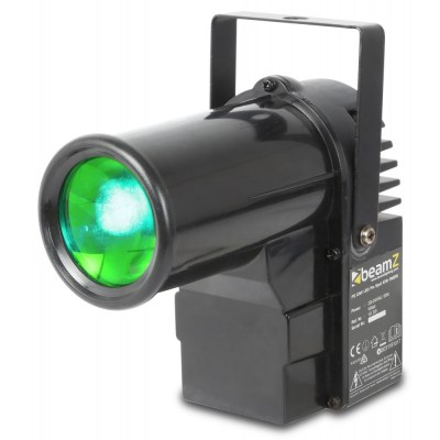 BeamZ PS10W LED Pin Spot 10W QCL DMX 2