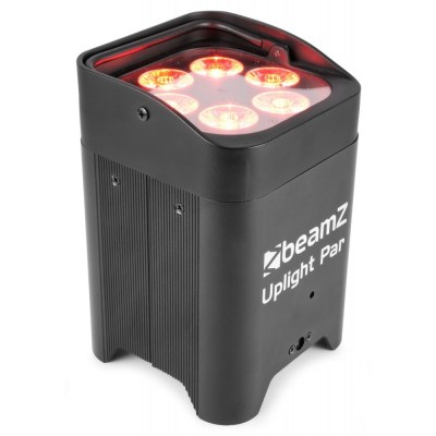 BeamZ Uplight PAR64 Battery 6x 12W RGBAW+UV